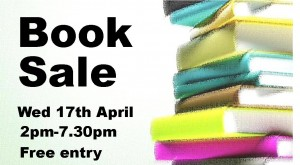 Book Sale - Wed 17th Apr