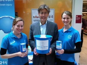 With Ben Bradshaw at Guildhall Sainsbury's for Carers Week 2013