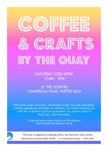 2016.04.23 Coffee & Crafts by the Quay Flyer