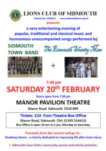 Sidmouth Concert