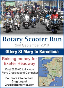 Rotary Scooter Run Flyer